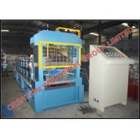 Wholesale Prepainted Steel V Shaped Roofing Ridge Cap Roll Forming Machine from china suppliers