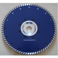 Buy cheap Premium quality 230mm Turbo Saw Slade With Flange plate from wholesalers