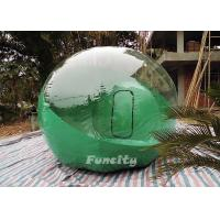 Wholesale 0.8mm PVC Inflatable Bubble Tent Green For Leisure Outdoor Activities from china suppliers