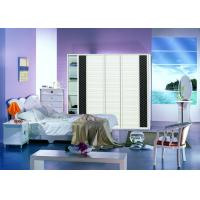 Wholesale Pure White Aluminium Frame Bedroom Wardrobes With Sliding Doors And Drawers from china suppliers