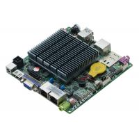 Wholesale J1900 Fanless Embedded Nano Itx Motherboard , Industrial Mainboard Support Wifi / 3g from china suppliers