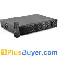 Quality 24 Channel Real Time Security DVR (1TB, 1280x1024, H.264) for sale