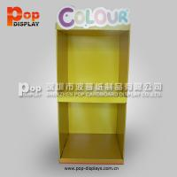 Wholesale Foldable Baseball Cap Cardboard Pallet Display , Recycled Shelving Stand from china suppliers