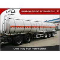 Wholesale 30000 to 60000 Liter Fuel Transport Trucks , Petrol Gasoline Edible Oil Tank Semi Trailer from china suppliers