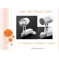 Wholesale 3 Phase 4 Wires 45w Cob Led Track Light For Exhibition Hall Shope , Black And White Color from china suppliers