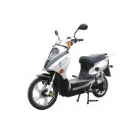 Wholesale Sliver Geared Motor Adult Electric Motorcycle , 48V 1100W E Scooter from china suppliers