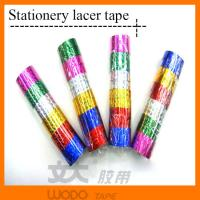 Buy cheap Printed color decorative glitter tape, adhesive glitter tape for DIY from wholesalers