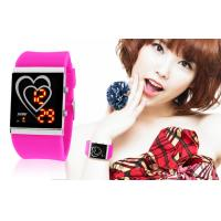 Wholesale Double-Heart LED Digital Wrist Watch from china suppliers