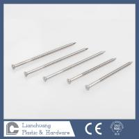 Wholesale Annular Ring Shank Deck Nails , stainless steel ring nails for decks and docks from china suppliers