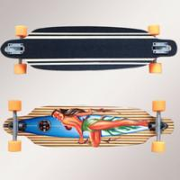 Buy cheap 36 inch Bamboo Ply Longboard Drop Through from wholesalers
