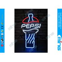 Wholesale Color PEPSI LED Neon Signs 50Hz - 60Hz , Flashing Led Light Signs from china suppliers
