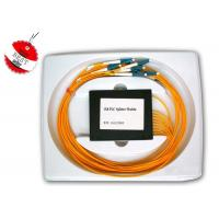 Wholesale Single Mode and Multi Mode 1×8 PLC Fiber Optic Splitter for Network Redundancy from china suppliers