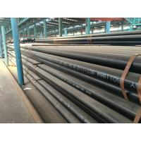 Wholesale Round Q345A / B / C / D / E carbon seamless steel pipe for Fluid from china suppliers