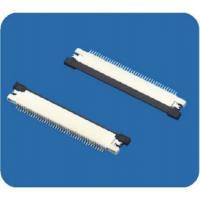 Wholesale 0.5mm pitch FFC/FPC connectors with lock,right angle from china suppliers