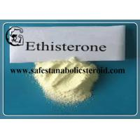Wholesale CAS 434-03-7 Prohormone Supplements Assay 99% Ethisterone from china suppliers