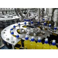Wholesale Customized Electric Beverage Juice Production Line For Glass Bottle / PET Bottle from china suppliers
