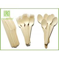 Buy cheap Retail eco friendly disposable cutlery 100 Forks 100 Knives 100 Spoons from wholesalers