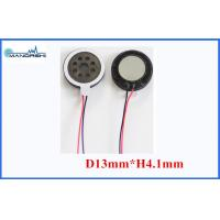 Wholesale 8 Ohm Mini Mylar Speaker 13mm 0.5W Wire 86dB Speaker for Mobilephone from china suppliers