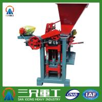 Wholesale 2014 Newly High Capacity Baking-free Brick Making Machine QTJ4-35 from china suppliers
