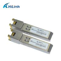 Wholesale RJ45 Port HL-SFP Optical Transceiver Module 1000 BASE -T SFP Gigabit Interface Converter from china suppliers