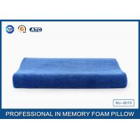 Wholesale Blue Curved Memory Foam Contour Pillow Relief Of Back / Neck And Shoulder Pain from china suppliers