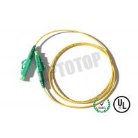 Simplex Fiber Optic Patch Cord Single Mode 2mm with 10m Length , Good Durability