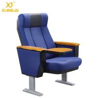 Buy cheap Scratch-Resistant PU Molded Foam Auditorium Chair  Foladble Aluminum Feet With Table from wholesalers
