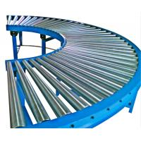 Wholesale Steel Curved Roller Conveyor Systems For Material Movement / Handling from china suppliers
