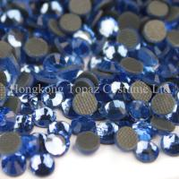 Wholesale SS10 nice quality world dmc crystal hot fix stone for fabric from china suppliers