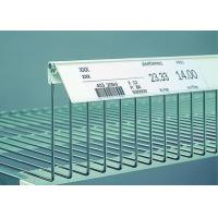 Wholesale Movable Shelf Label Holders For Supermarket Metal Shelf / Metro Shelving from china suppliers