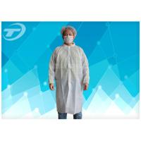 Wholesale Non - Woven Disposable Lab Coats With Velcro Fastening Soft And Breathable from china suppliers