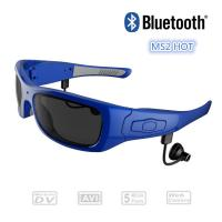 Wholesale Portable 720P HD Video Recording Glasses With Bluetooth Camera / Video Recording Eyewear from china suppliers