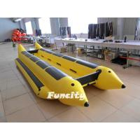 Wholesale 0.9mm Thickness PVC Tarpaulin Inflatable Banana Boat For Holiday Entertainment from china suppliers