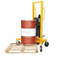 Wholesale 400Kg Load And 1m Lifting Height Eagle-gripper Type Hydraulic Drum Stacker from china suppliers