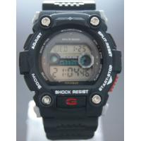 Wholesale Men Black Sport Wrist Watches , Casio G Digital Display Split Stopwatch from china suppliers