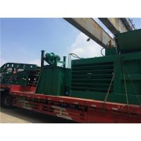 Quality Low Trouble Rate Baling Equipment With Dispersed Cutting Blades / Waste Paper Baler for sale