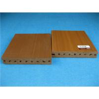 Wholesale UV Resistant Plastic Outside Wpc Decking Flooring With Smooth Brushed Surface from china suppliers
