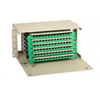 Wholesale 6U Fiber Optic ODF , ODF Optical Fiber Distribution Frame for FTTH from china suppliers