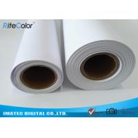 Wholesale 30M Polypropylene Inkjet Synthetic Paper , Matte Water Resistant Printer Paper Roll from china suppliers