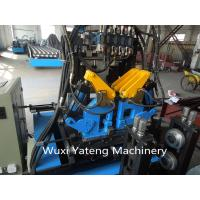 Wholesale Interchangeable C / Z Purlin Cold Roll Forming Machine / Equipment With Customerized Voltage from china suppliers