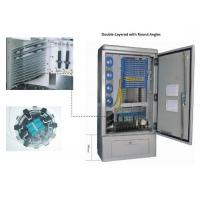 Wholesale 576 FDH Fiber Optic Junction Box , IP65 Outdoor Optical Cross Connection Cabinet from china suppliers