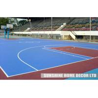 Wholesale Indoor Playground Interlocking Flooring For Badminton Court , Environmental-friendly from china suppliers