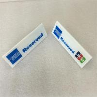 Wholesale Custom High grade acrylic logo block for bank from china suppliers