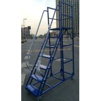 Wholesale Manual Picking High Climbing Ladder with Movable Wheel from china suppliers
