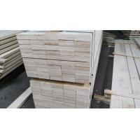 Quality Poplar LVL Lumber Veneer Laminated For Japan Market , MR Glue for sale
