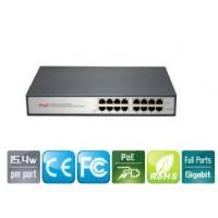 Wholesale 8-Port  Gigabit PoE Injector Adapter IEEE 802.3af For IP Security Cameras from china suppliers