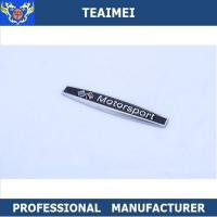 Wholesale Personalized Chrome Plating Metal Car Fender Emblems Custom Car Badge from china suppliers