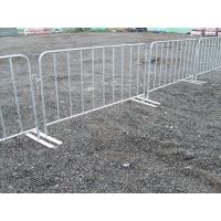 Wholesale Hot dipped galvanized crowd control barrier 420gram/SQM from china suppliers