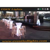 Wholesale CE ROHS Nightclub Glowing illuminated bar tables 16 Colors Changeable from china suppliers