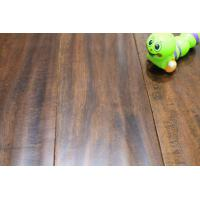 "Wholesale 5"" espresso hand scraped acacia engineered flooring from china suppliers"